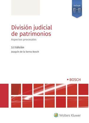 DIVISION JUDICIAL DE PATRIMONIOS. ASPECTOS PROCESALES