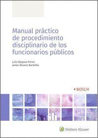 MANUAL PRACTICO DE PROCEDIMIENTO DISCIPLINARIO DE LOS FUNCIONARIOS PUBLICOS