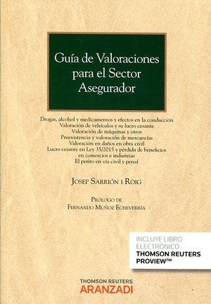 GUIA DE VALORACIONES PARA EL SECTOR ASEGURADOR