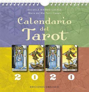 2020 CALENDARIO DEL TAROT