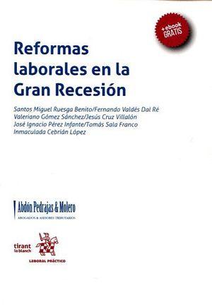 REFORMAS LABORALES EN LA GRAN RECESION