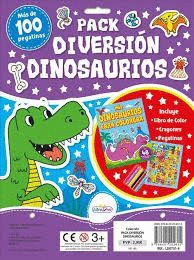 DINOSAURIOS. PACK DIVERSION