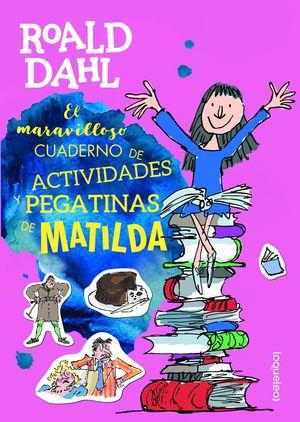 MATILDA. CUADERNO DE ACTIVIDADES Y PEGATINAS DE MATILDA