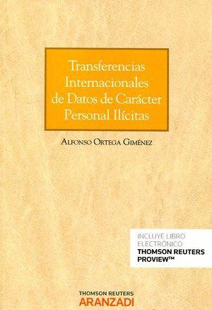 TRANSFERENCIAS INTERNACIONALES DE DATOS DE CARACTER PERSONAL ILÍCITAS