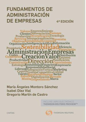 FUNDAMENTOS DE ADMINISTRACIÓN DE EMPRESAS (PAPEL + E-BOOK)