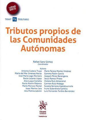 TRIBUTOS PROPIOS DE LAS COMUNIDADES AUTONOMAS
