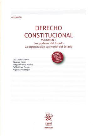 DERECHO CONSTITUCIONAL VOL. II 2018