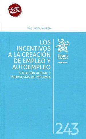 LOS INCENTIVOS  A LA CREACION DE EMPLEO Y AUTOEMPLEO