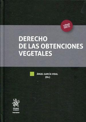 DERECHO DE LAS OBTENCIONES VEGETALES
