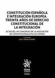 CONSTITUCIÓN ESPAÑOLA E INTEGRACION EUROPEA