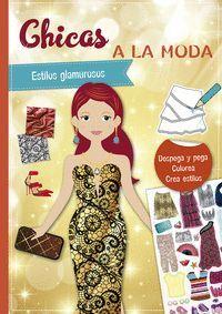 CHICAS A LA MODA - ESTILOS GLAMUROSOS - PEGATINAS