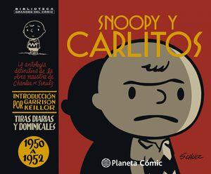 SNOOPY Y CARLITOS 1950-1952 N. 01/25