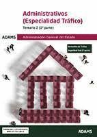 ADMINISTRATIVOS TRAFICO. TEMARIO 2 (2 VOL.)