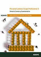 PERSONAL LABORAL.GRUPO PROFESIONAL 3. TEMARIO COMUN Y CUESTIONARIOS