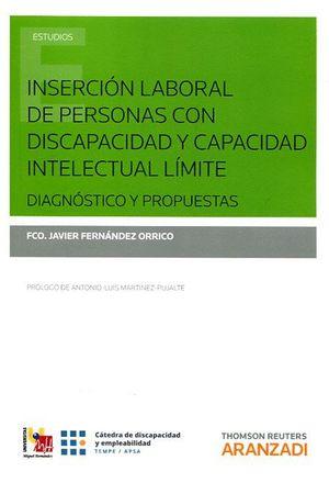 INSERCION LABORAL DE PERSONAS CON DISCAPACIDAD Y CAPACIDAD INTELECTUAL LÍMITE