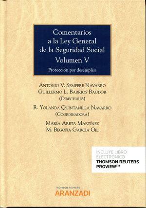 COMENTARIOS A LA LEY GENERAL DE LA SEGURIDAD SOCIAL VOL.V