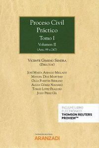 PROCESO CIVIL PRÁCTICO TOMO I (2 VOL.)