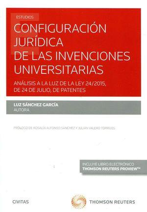 CONFIGURACION JURIDICA DE LAS INVENCIONES UNIVERSITARIAS