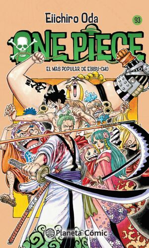 ONE PIECE Nº 93