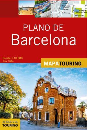 PLANO DE BARCELONA. MAPA TOURING