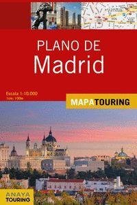 PLANO DE MADRID ESCALA 1:10.000