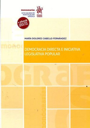 DEMOCRACIA DIRECTA E INICIATIVA LEGISLATIVA POPULAR