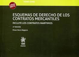 ESQUEMAS DE DERECHO DE LOS CONTRATOS MERCANTILES - TOMO XXXIII