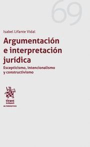 ARGUMENTACION E INTERPRETACION JURIDICA
