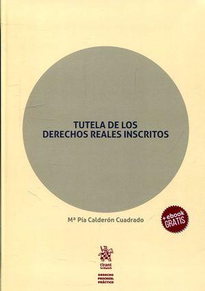 TUTELA DE LOS DERECHOS REALES INSCRITOS