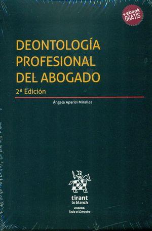 DEONTOLOGIA PROFESIONAL DEL ABOGADO