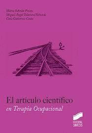 EL ARTICULO CIENTIFICO EN TERAPIA OCUPACIONAL