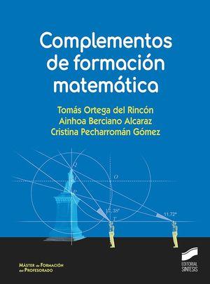 COMPLEMENTOS DE FORMACIÓN MATEMÁTICA