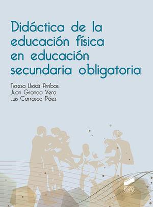 DIDÁCTICA DE LA EDUCACIÓN FÍSICA EN EDUCACIÓN SECUNDARIA OBLIGATORIA