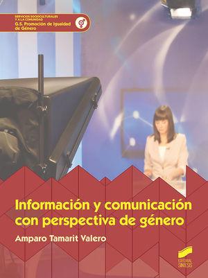 INFORMACIÓN Y COMUNICACIÓN CON PERSPECTIVA DE GENÉRO