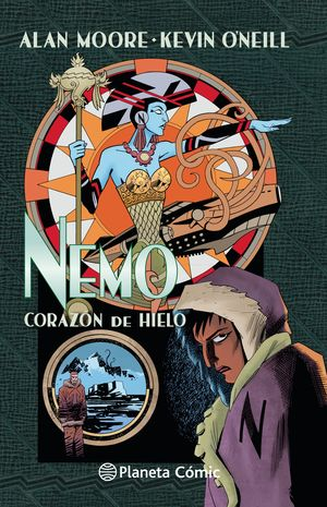 THE LEAGUE OF EXTRAORDINARY GENTLEMEN NEMO CORAZÓN DE HIELO