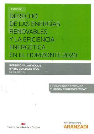 DERECHO DE LAS ENERGIAS RENOVABLES Y LA EFICIENCIA ENERGETICA EN EL HORIZONTE 2020