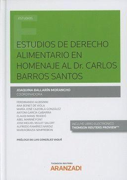 ESTUDIOS DE DERECHO ALIMENTARIO