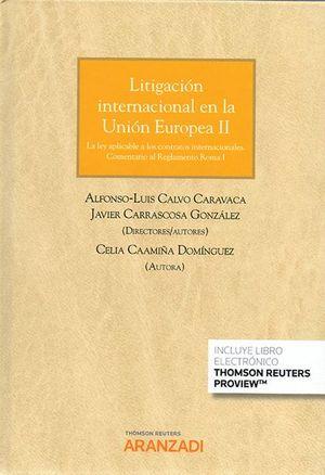 LITIGACIÓN INTERNACIONAL EN LA UNION EUROPEA II