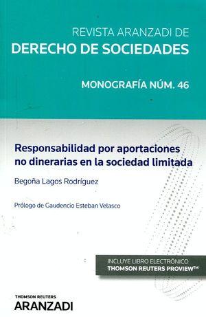 RESPONSABILIDAD POR APORTACIONES NO DINERARIAS EN LA SOCIEDAD LIMITADA