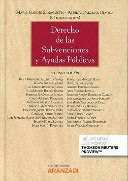 DERECHO DE LAS SUBVENCIONES Y AYUDAS PÚBLICAS