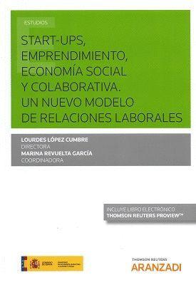 START-UPS, EMPRENDIMIENTO, ECONOMÍA SOCIAL Y COLABORATIVA