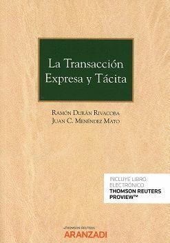 LA TRANSACCIÓN EXPRESA Y TÁCITA