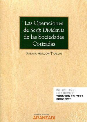 OPERACIONES DE SCRIP DIVIDENDS DE LAS SOCIEDADES COTIZADAS