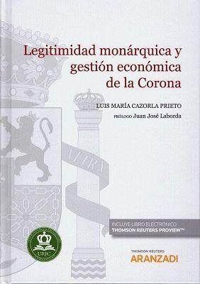 LEGITIMIDAD MONÁRQUICA Y GESTIÓN ECONÓMICA DE LA CORONA (DÚO)