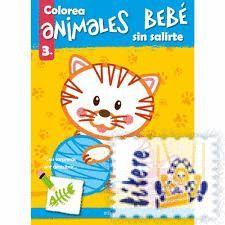 COLOREA ANIMALES BEBE SIN SALIRTE (+3)