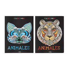 ANIMALES. COLOREANDO (2 TITULOS)