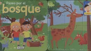 PASEO POR EL BOSQUE - 1 CUENTO + 3 PUZLES
