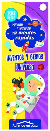 DOBLE RETO! UNIVERSO. INVENTOS Y GENIOS