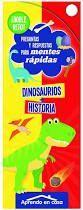 DOBLE RETO! DINOSAURIOS + HISTORIA