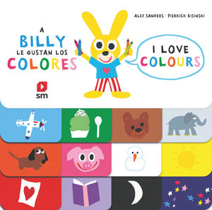 A BILLY LE GUSTAN LOS COLORES. I LOVE COLOURS